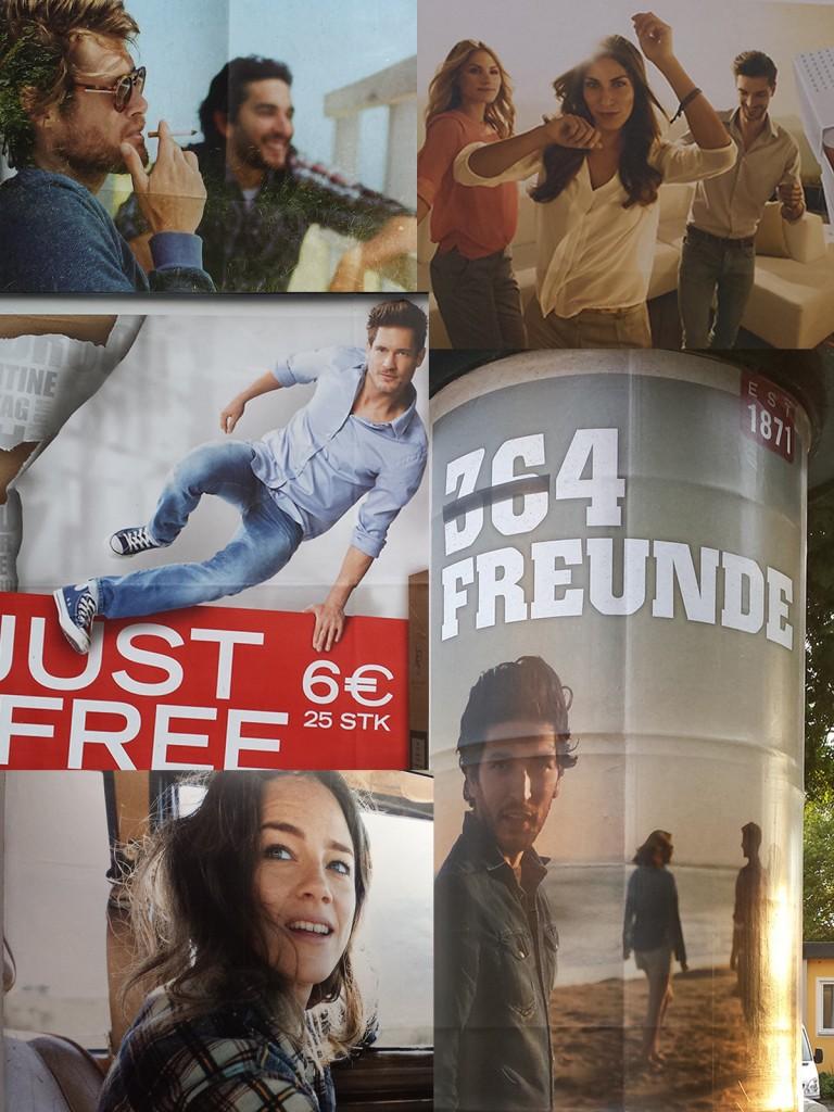 Mit jungen Gesichtern wird in ganz Deutschland für Zigaretten aller möglichen Marken massiv um Jugendliche und Herandwachsende gebuhlt.