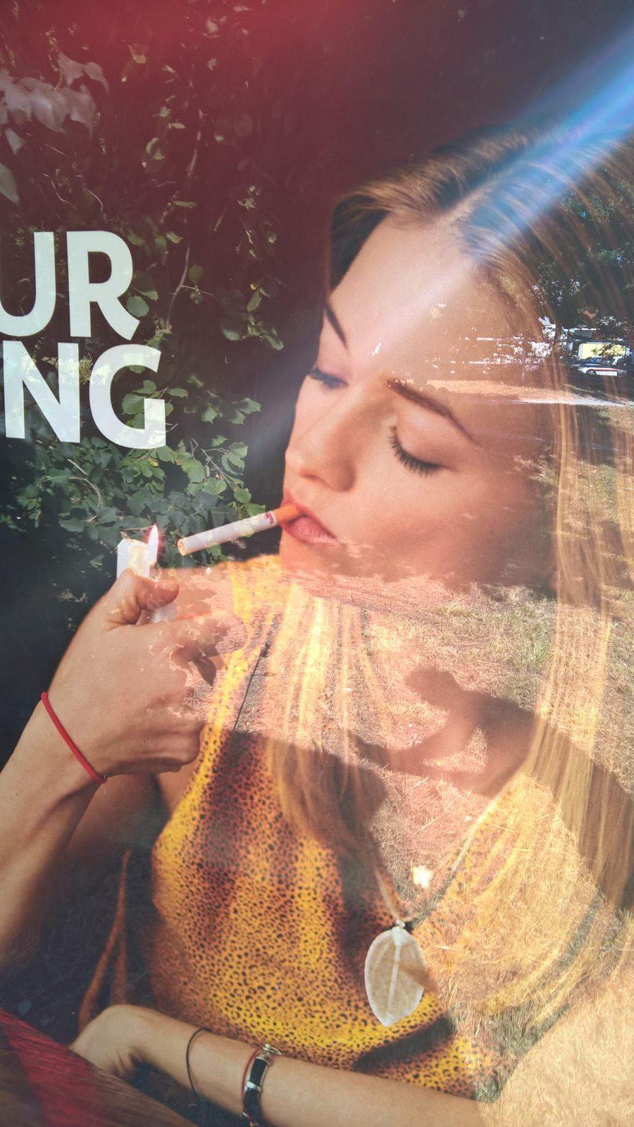 Jugendgefährdende Werbung von Camel
