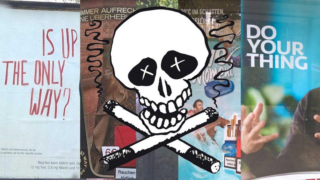 Tabakwerbung verführt vor allem Kinder und Jugendliche in eine oft tödliche Sucht.
